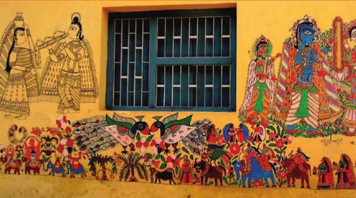 MADHUBANI ART: ONE OF THE MOST FAMOUS FOLK ARTS OF INDIA